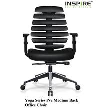 Yoga Series Pvc High Mediumback Office Chair