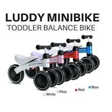 Luddy 1.0 Baby Toddler Kids Minibike/ Balance Bike/ Walker/ Bicycle