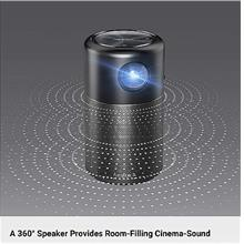Nebula Capsule Smart Wi-Fi Android Projector (PJ-AN100).