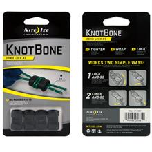Nite Ize KnotBone Cord Lock #3 - 4PC PACK (Fits 2.4mm Cord)