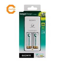 Sony Compact NiMH Battery Charger and Battery Kit (BCG-34HW2KN)