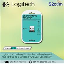 Logitech Usb Unifying Receiver For Unifying Mouse / Keyboard Up To 6 D