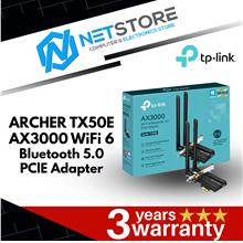 TP-LINK ARCHER TX50E AX3000 WIFI 6 BLUETOOTH 5.0 PClE ADAPTER