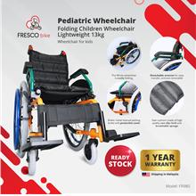 【READY STOCK】Pediatric Children Wheelchair Folding  Lightweight 13kg