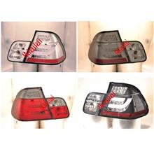 Sonar BMW E46 '02-05 4D LED Light Bar Tail Lamp