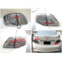 Toyota '09-10 Altis Tail Lamp Crystal LED Smoke