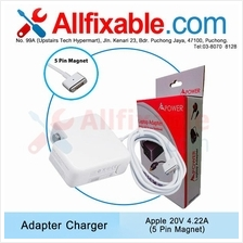 Apple 20v 4.22a Macbook Pro 15 A1398 A1417 Adapter Charger