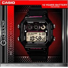CASIO AE-1300WH-1A2V 10 YEARS BATTERY WATCH 100% ORIGINAL