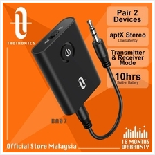 TaoTronics BA07 Transmitter & Receiver 3.5mm Adapter Dual Pairing