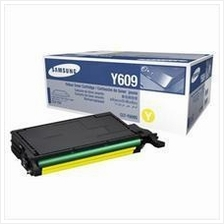 SAMSUNG Cartridge CLT-Y609S Yellow Toner (Genuine) CLP-770 775ND 609