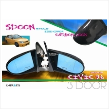 SPOON style side mirror HONDA CIVIC EK 3door