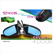 SPOON style side mirror HONDA CIVIC EK 4 door