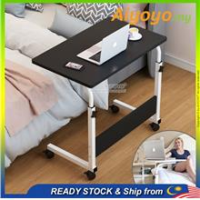 Adjustable Bedside Laptop Table Notebook Table Sofa Side Table Wheel B