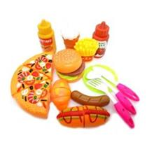 13pcs Mini Fast Food Fun Kitchen Toys For Kids Gift Macdonald