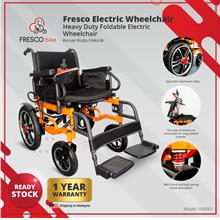 Fresco Electric Wheelchair Heavy Duty Foldable Electric Wheelchair