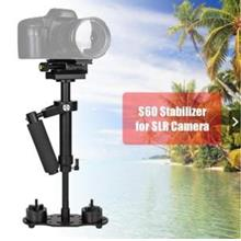 S60 Mini Handheld Stabilizer Anti-shake Video Camera for DSLR