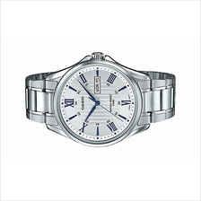 CASIO Men Stainless Steel Day Date Watch MTP-1384D-7A2VDF
