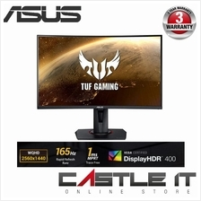 "ASUS VG27WQ LED Curved GAMING FLAT 27 "" MONITOR (VA-WQHD-1MS-HDMI-DP-A"