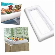 PVC Inflatable Ice Bar Water Entertainment Salad Plate Stand Outdoor Ice Bucke
