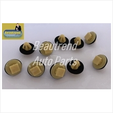 Myvi Alza Viva Side Skirt Clips Light Brown 10pcs