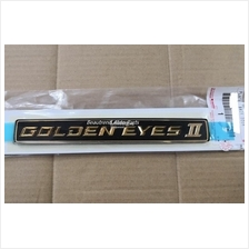 Toyota Veffire rear GOLDEN EYE II logo emblem original