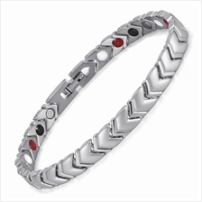 Women Titanium 4 in 1 Health Care Bracelets