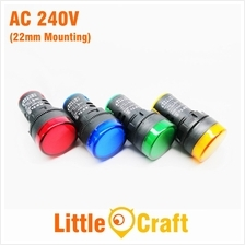 ADS16 22D 22mm LED Indicator AC 240V Pilot Lamp