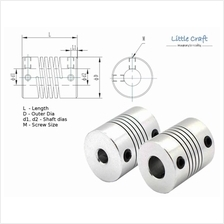 Stepper Motor Flexible Coupling Helical Type For 3D Printer, CNC