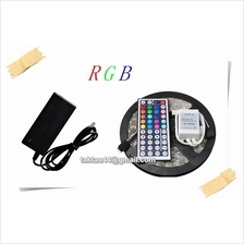 5M RGB 5050 Waterproof Strip light + Remote Control + Controller + PSU