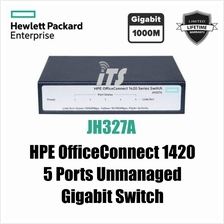 HP OfficeConnect 1420 5-Port Gigabit Switch (JH327A)