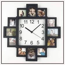 DIY Wall Clock Modern Design DIY Photo Frame