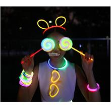 Glow In Dark Sticks-Extra Large-Headwear-Glasses-Lantern-Bangles-Top