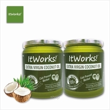 [Bundle Set] ItWorks Extra Virgin Coconut Oil Jar 500ml x 2 units)