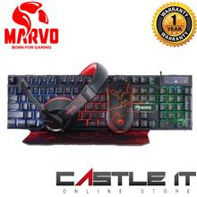 Marvo CM370 Scorpion RGB 4-in-1 Combo Mouse Keyboard Headphone Mouse