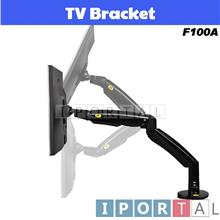 NB F100A 22 to 35 Inch Gas Strut TV Monitor Bracket Holder Mount USB
