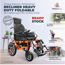 Fresco Recliner Heavy Duty Foldable Reclining Electric Wheelchair