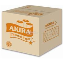 AKIRA 80mm X 60mm X 12mm Thermal Paper Roll 1Box 100 Roll POS System
