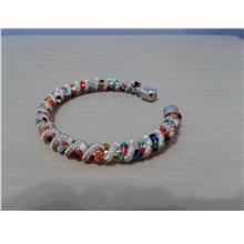 B08 BANGLE - COLOURFUL BEADS