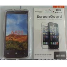 Screen Protector + TPU Case for Lenovo A820