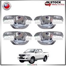 Toyota Hilux Vigo Champ 2005-2015 Door Handle Cover Garnish Trim ABS P