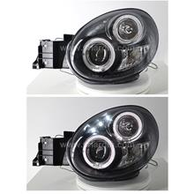 Subaru Impreza 00-02 Ver 7 Projector Head Lamp with Ring