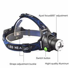 Camping Hiking Cycling Focus Zoomable CREE XML-T6 LED Headlamp Light