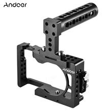 Andoer Aluminum Alloy Camera Cage for Sony A6500 ILDC Camera