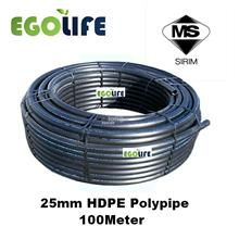 [100meter] 25mm HDPE POLYPIPE POLY PIPE SIRIM