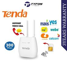 Tenda 300Mbps Wireless N300 4G LTE VoLTE Router 4G680V2.0 (SIM Card Wi