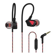 Headphones In-ear Wired Headset 3.5mm Jack Headphone for Smartphone MP3 (Black