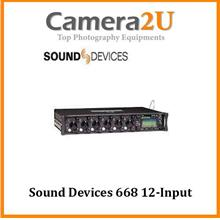 Sound Devices 668 12-Input Field Production Mixer