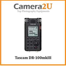 Tascam DR-100mkIII Portable Audio Recorder with Onboard 4-Mic Array