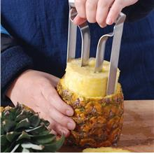 Stainless Steel Fruit Pineapple Slicer Peeler Cutter