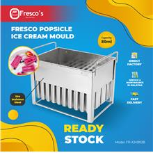 【READY STOCK】 Fresco Popsicle Ice Cream Mould 80ml